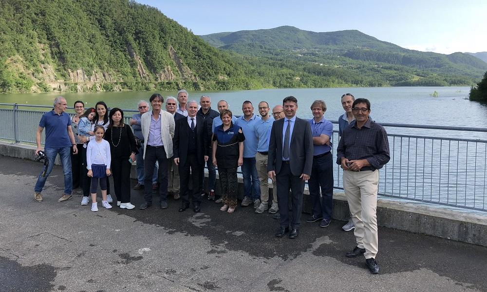 Collaudo della diga di Mignano, prefetto di Piacenza e funzionari regionali in visita – VIDEO