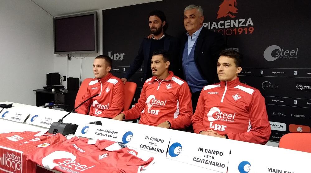 Terrani, Ferrari e Bachini: il Piacenza Calcio vuole la serie B – AUDIO