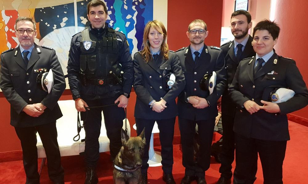 Polizia locale, cinque agenti piacentini premiati al convegno nazionale del Sulpl