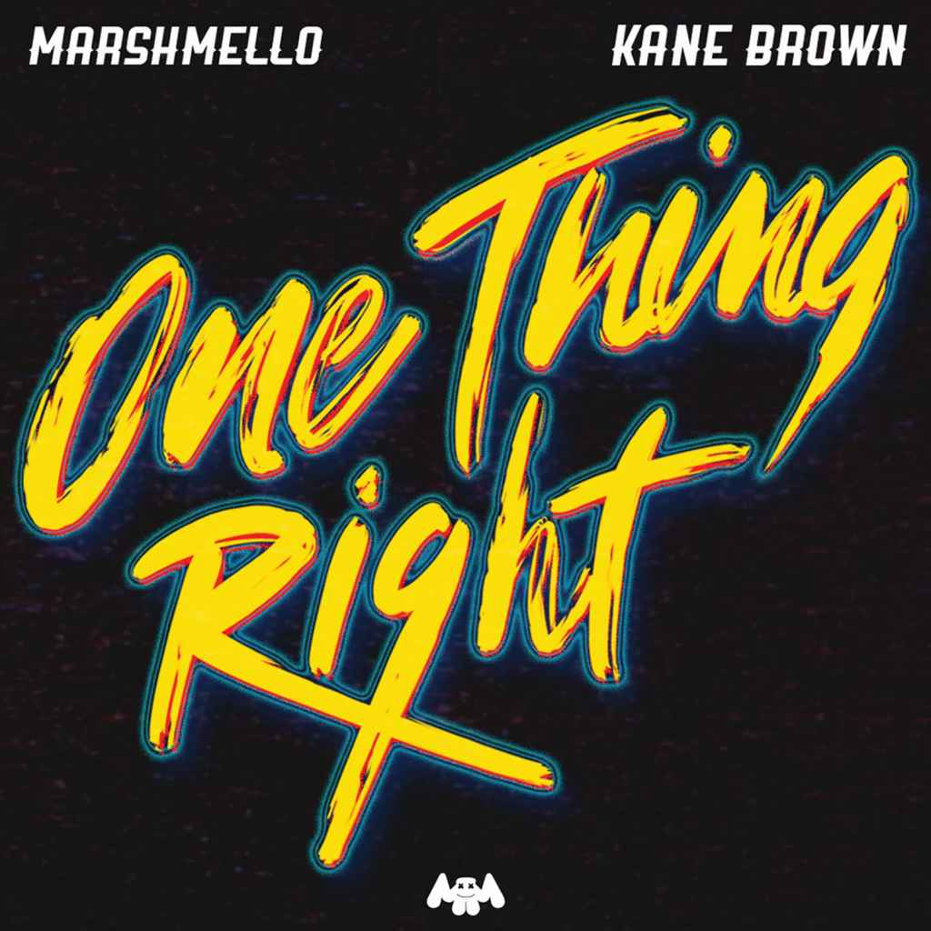 Marshmello feat. Kane Brown – One Thing Right