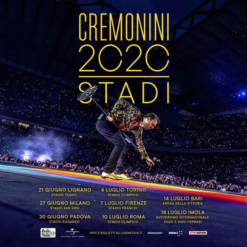 Cesare Cremonini Tour 2020